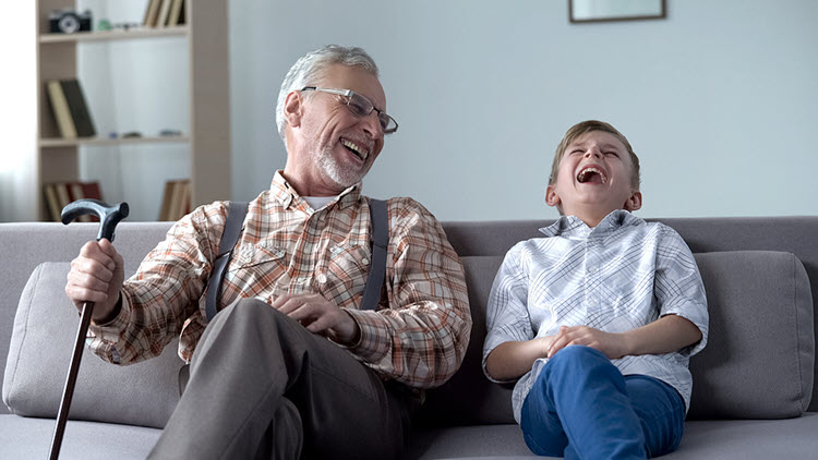 Shared Laughter Connects Us (not to mention the proven health benefits)